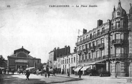 La Ville Basse de Carcassonne, images d'antan...