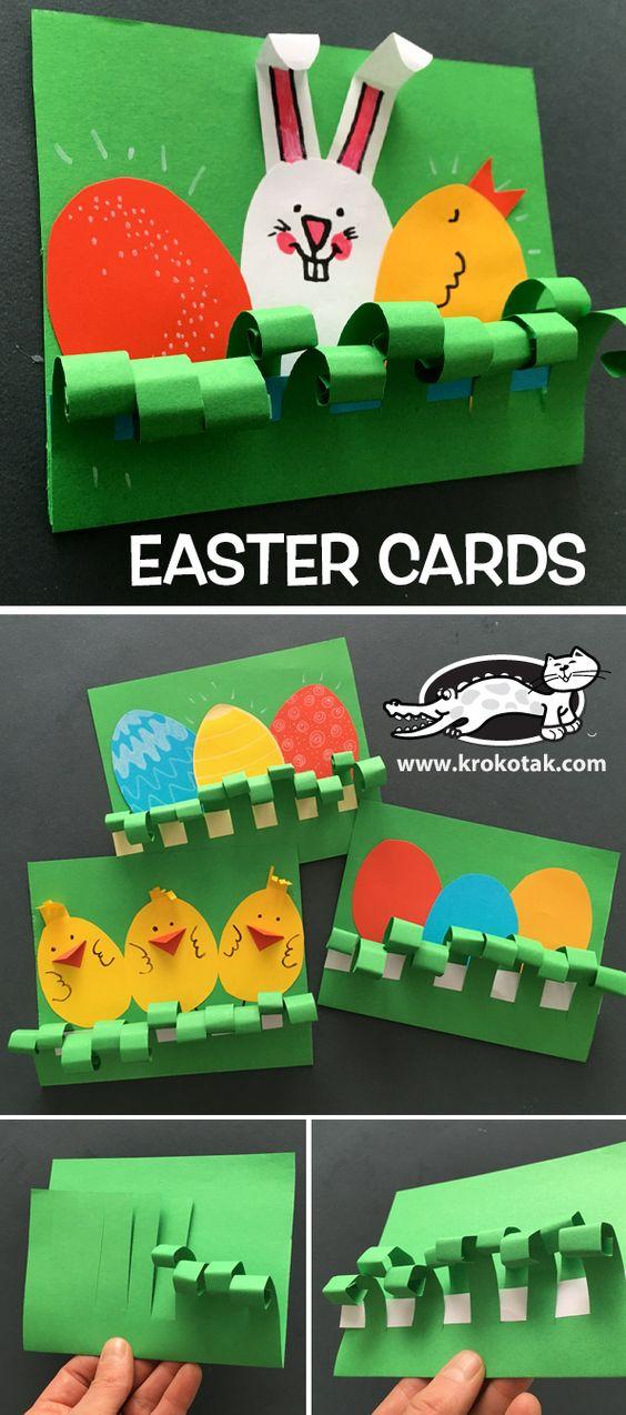 Idée Pinterest : Carte pour Pâques