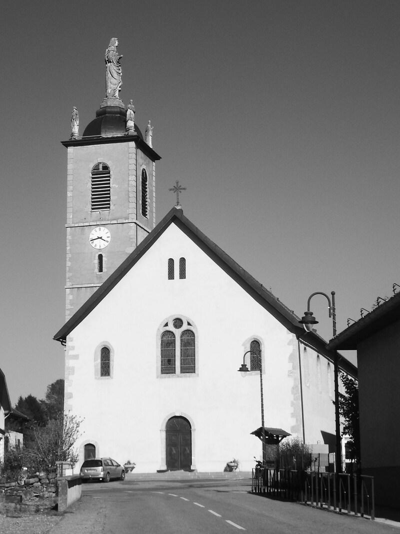 Eglise de Mercury de 1834