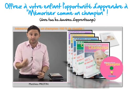 Matthieu Protin : les clés de la mémorisation