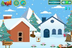 Jouer à AVM Christmas house escape