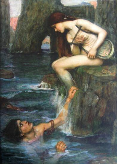 John William Waterhouse – la Sirène – 1900