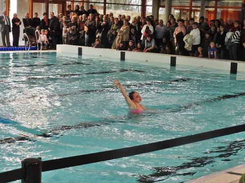 L'ouverture au public de la nouvelle piscine de Châtillon sur Seine...