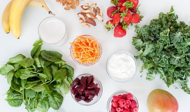 Alimentation saine fruits légumes