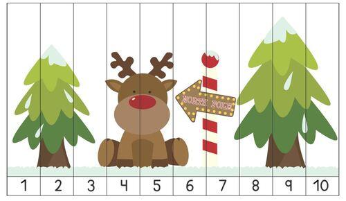 Favori Allez hop : deux tits puzzles numériques :) - La petite et moyenne  CX28