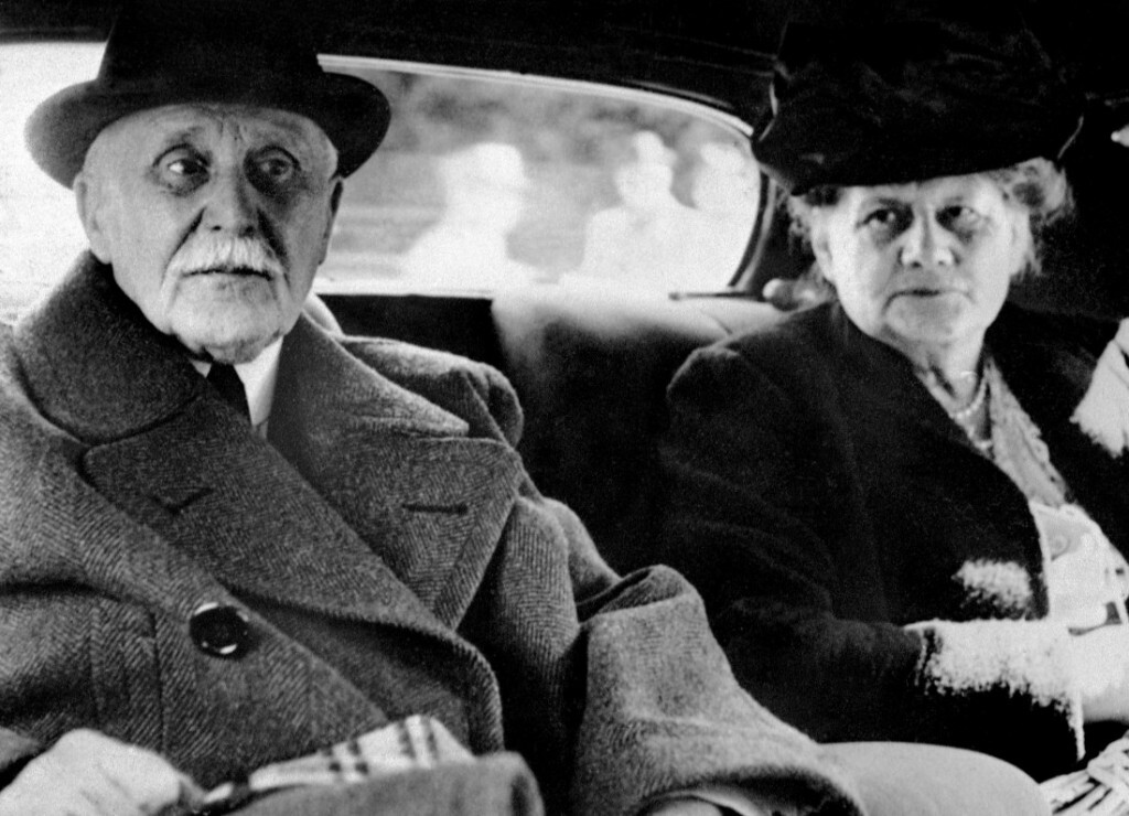 Pétain et sa femme