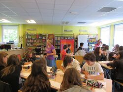 Ateliers d'écriture franco-allemands