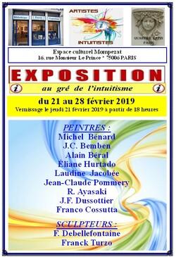 une nouvelle exposition intuitiste à paris