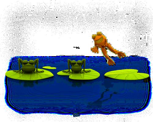 tube grenouille