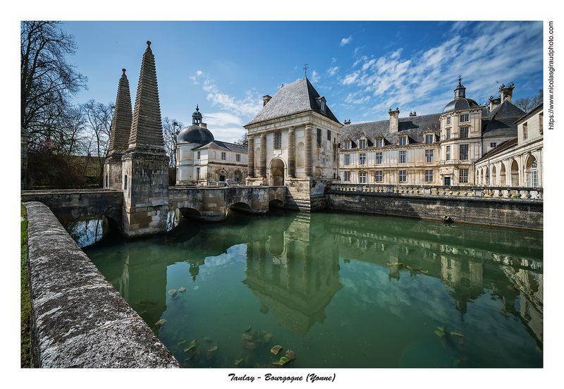 Tanlay et Châteauneuf, au fil du canal de Bourgogne