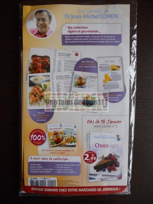 N° 1 Les carnets du Dr. Jean Michel Cohen - Test - Cobra - Janvier 2012