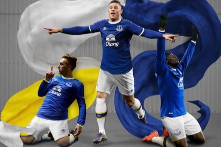 Nouveau Maillot de Domicile Everton 2016 2017 pas cher