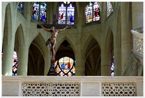 Paris. Eglise Saint-Etienne-du-Mont