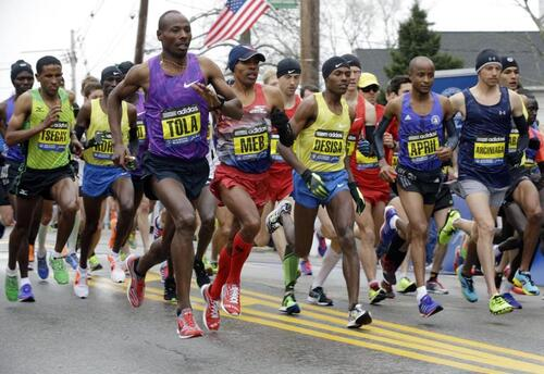 Marathon de Boston 2016