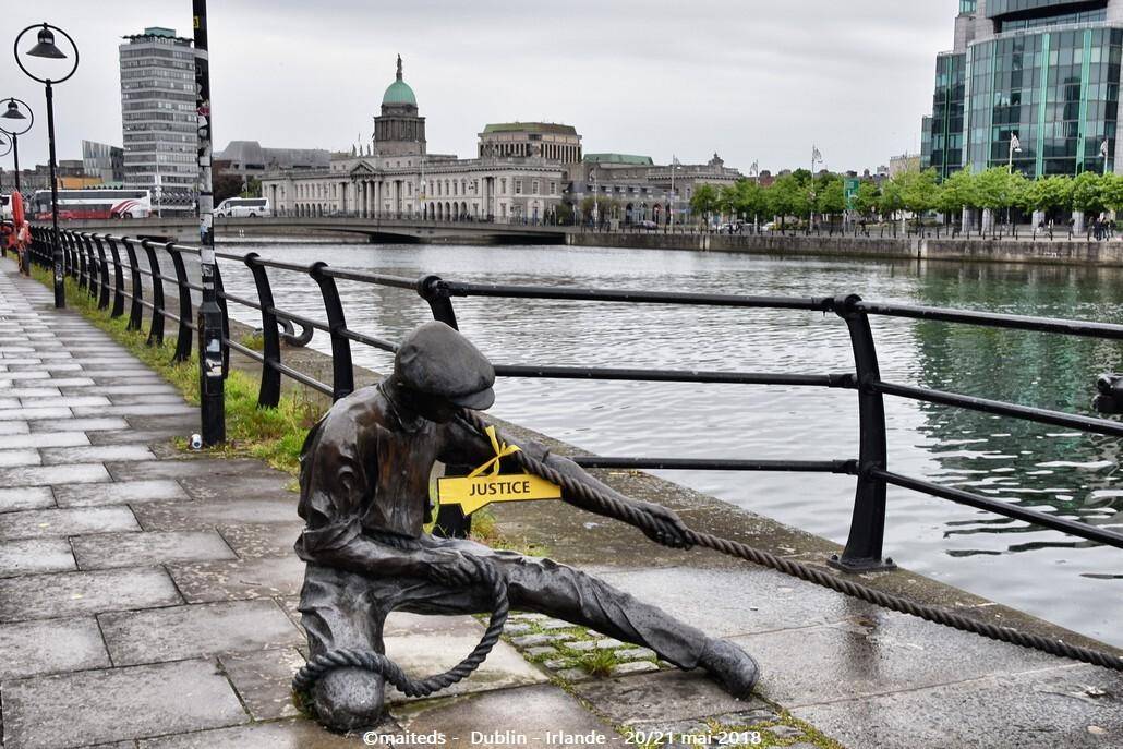 Dublin - Irlande (14) Juge de lignes
