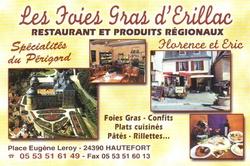 Foies gras d'Erillac