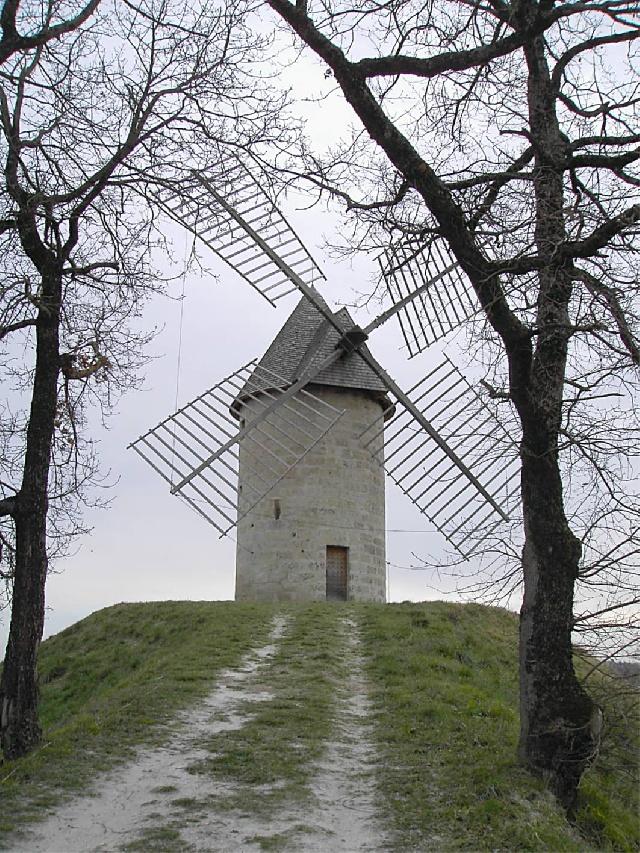 Un moulin ?