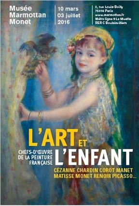 * EXPO * L'Art & l'Enfant - Musée Marmottan