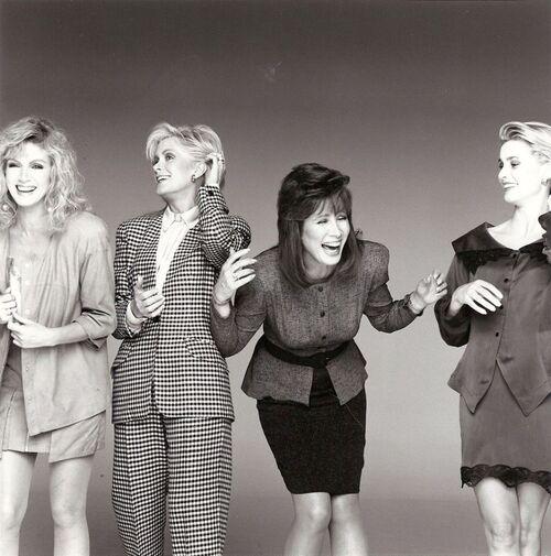 Les femmes de Knots Landing.
