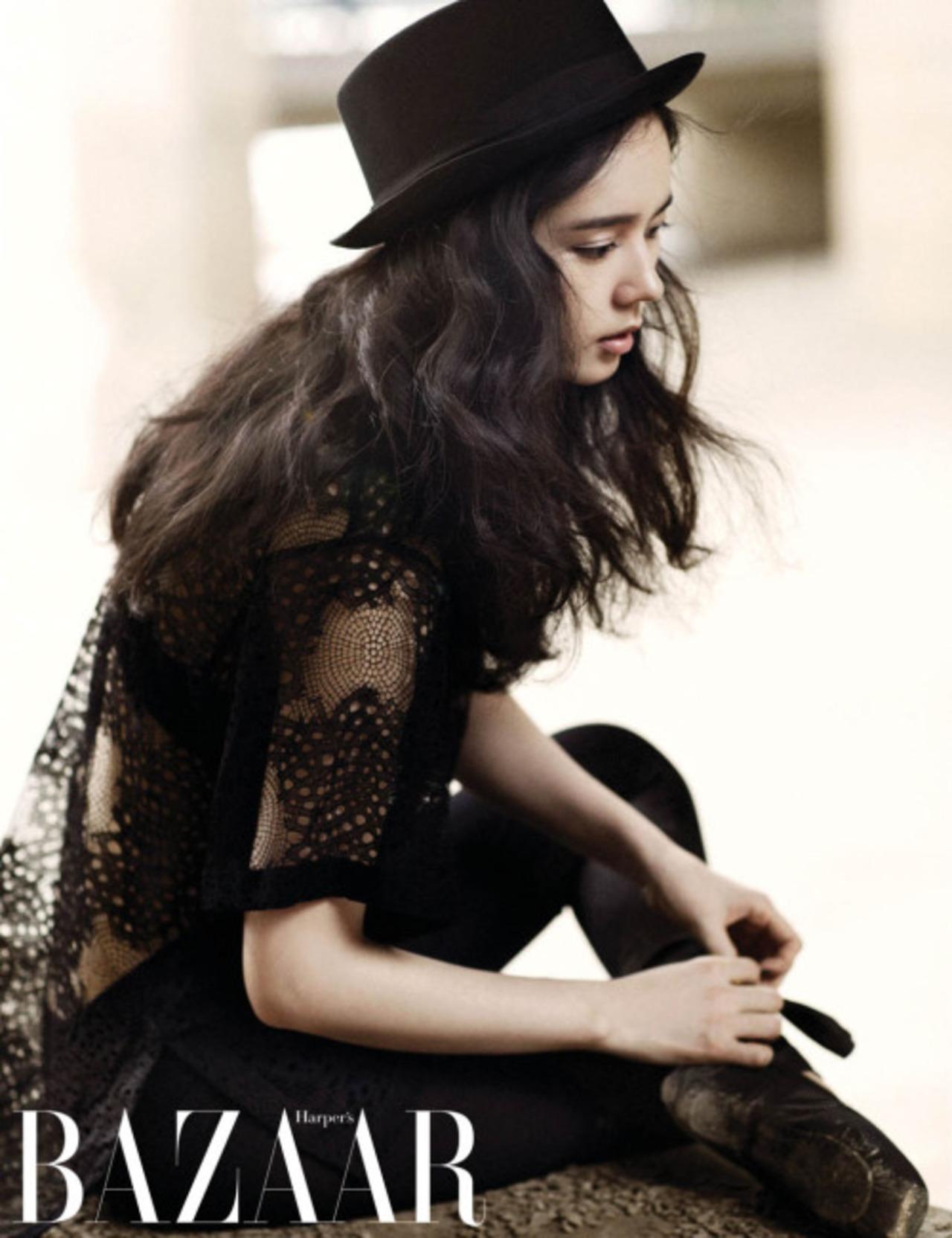 Han Ga In pour Harper's Baazar