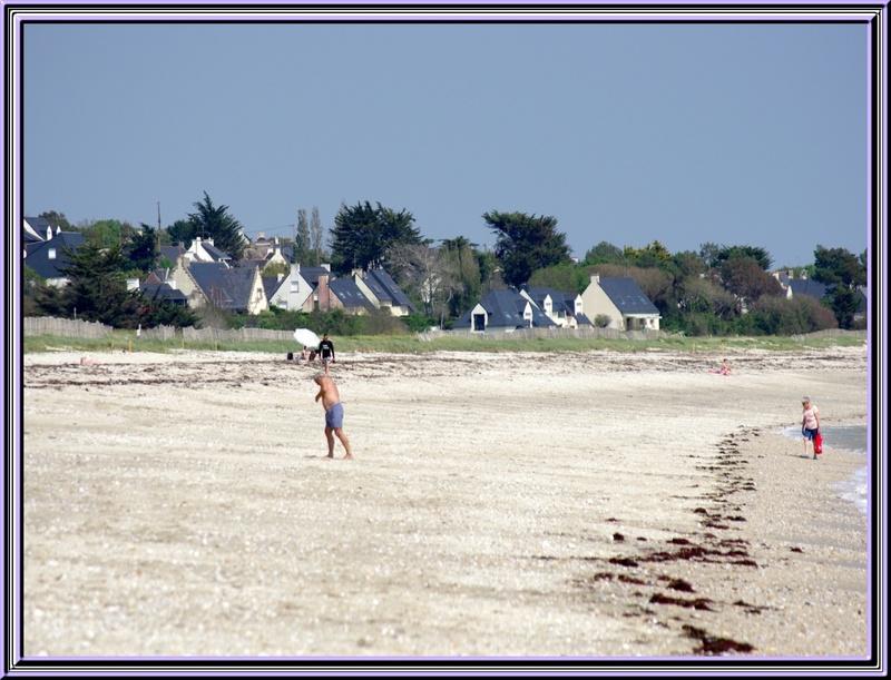 Le chateau de Suscinio et la plage (morbihan)