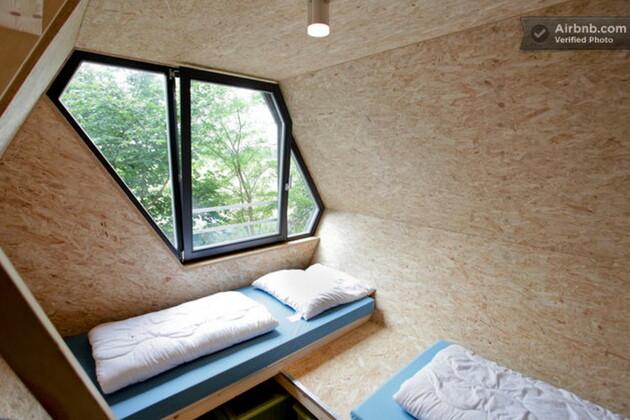 Une cabane moderne dans les arbres en Allemagne, 102 euros