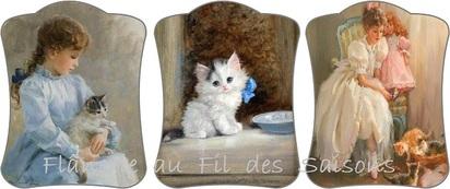Mon ami Chat ! cartonnettes