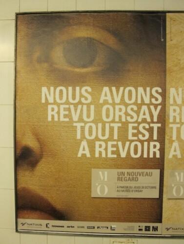 Orsay affiche oeil Jules Lefebvre vérité