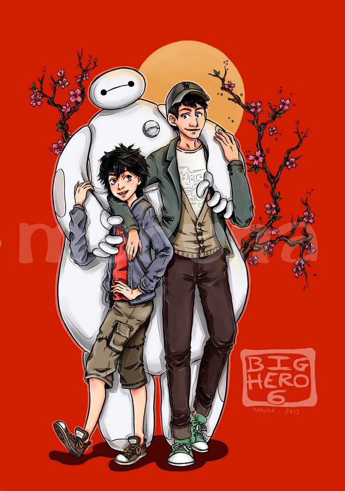 Les nouveaux héros / Big hero 6 [Fanart]