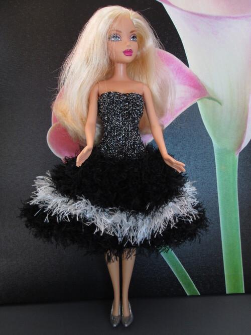 Robes de soirée pour barbie