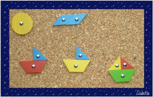 Le jeu du marteau les bateaux