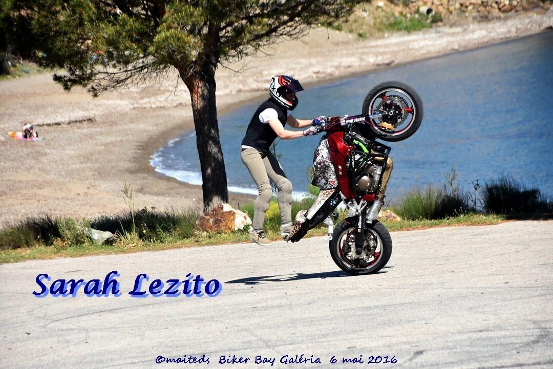 Sarah Lezito - Championne de stunt
