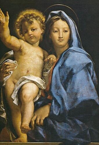 Vierge à l'Enfant de Carlo Maratta (pinacothèque)