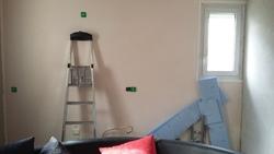Le mur cuisine et son joli roooose