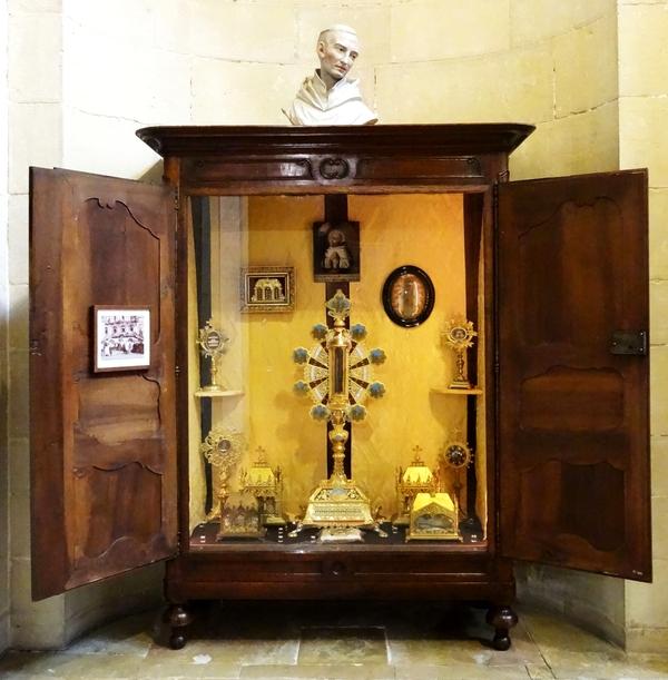 Les reliques de Saint Bernard...