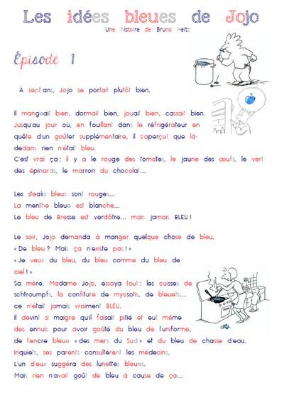 Bekannt Lecture compréhension - Tnisabelle PE46