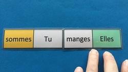 Jeu : domino des verbes au présent