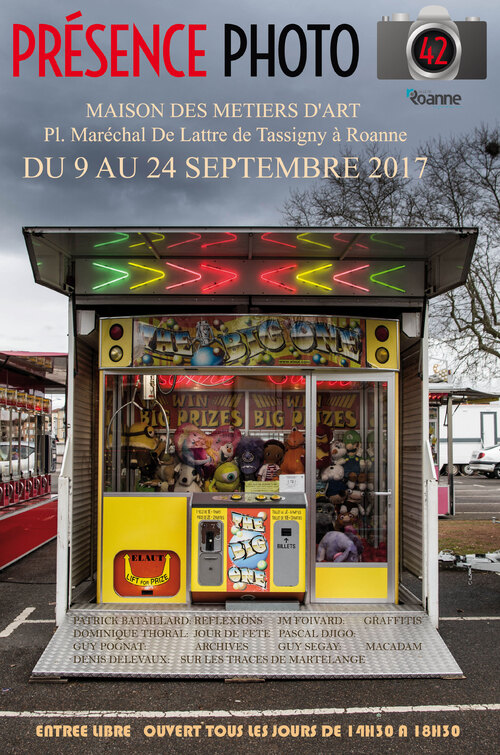EXPO PHOTO A LA MAISON DES METIERS D'ART A ROANNE