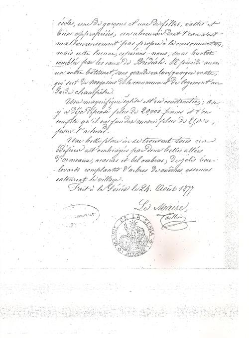 HISTORIQUE DE LA SENIA