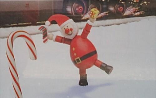 affiche Noël TGV