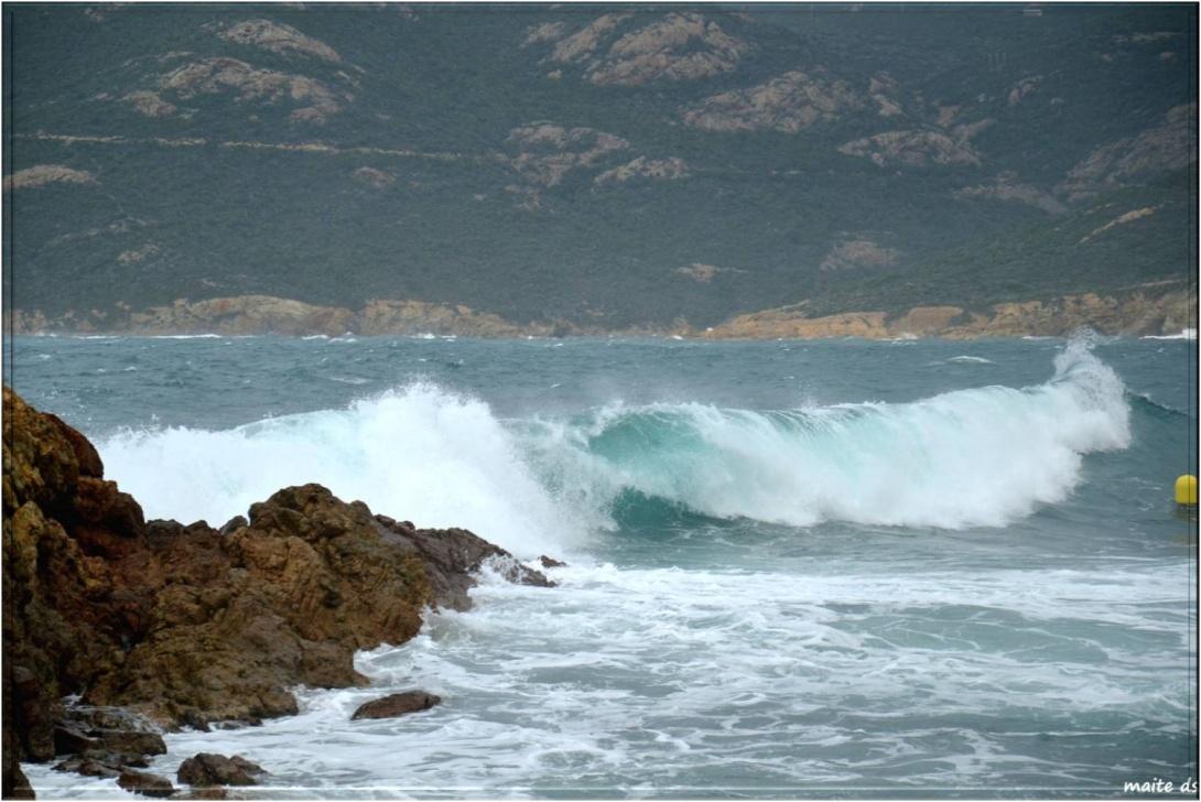 Mer déchaînée