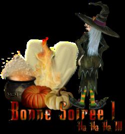 Poésie d'Halloween