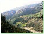 Le panorama sur la vallée de Saint-Nizier