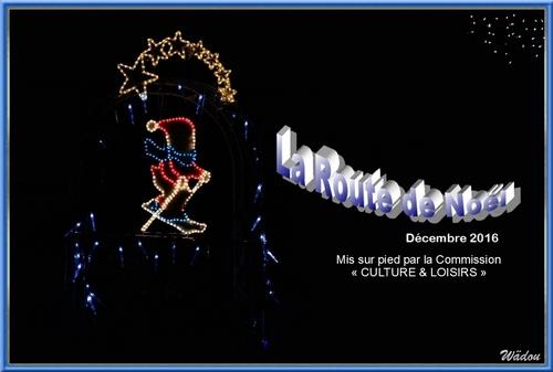 La Route de Noël à Courtepin, 20 vitrines en décembre 2016