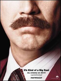 LEGENDES VIVANTES - Ron Burgundy et sa team au cinéma le 18 juin 2014 !