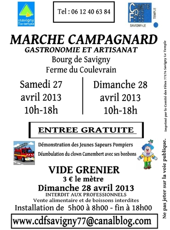 marché campagnard 2013