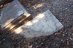 Tombe du cimetière juif - Bayonne