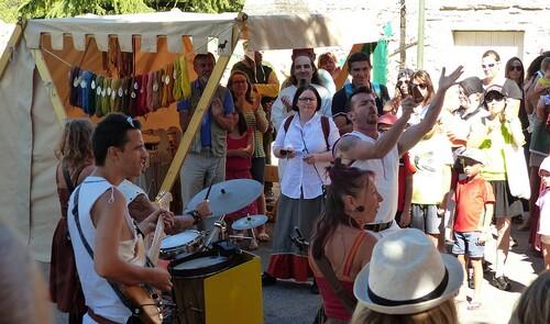 Une fête médiévale et du terroir. 08-2018