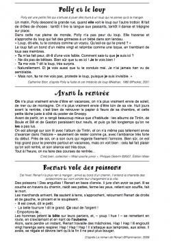 Grammaire Picot - Période 1