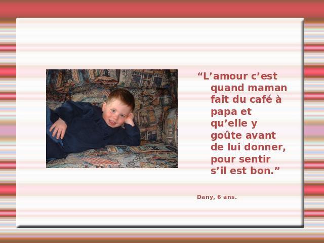Blog de lisezmoi : Hello! Bienvenue sur mon blog!, l'amour vu par les enfants